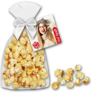 Popcorn 50g als Werbeartikel mit Logo im PRESIT Online-Shop bedrucken lassen