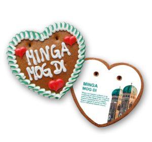 Bedruckte Rückentafel für Herz 70g / Größe 3 als Werbeartikel mit Logo im PRESIT Online-Shop bedrucken lassen