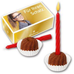 Hupf Mini Birthday KIT als Werbeartikel mit Logo im PRESIT Online-Shop bedrucken lassen