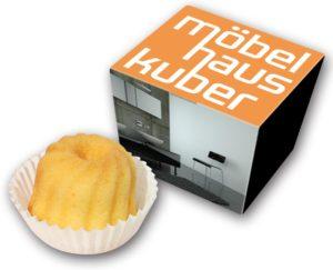 Hupf in 1er Schmuckkarton als Werbeartikel mit Logo im PRESIT Online-Shop bedrucken lassen