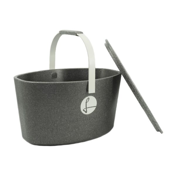 Lieblingskorb Plus silver grey – Werbeartikel im PRESIT Online-Shop bedrucken lassen