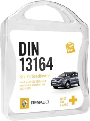 MyKit Erste-Hilfe DIN 13164 Weiß – Werbeartikel im PRESIT Online-Shop bedrucken lassen