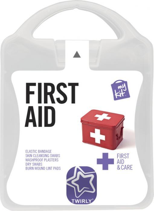 MyKit Erste-Hilfe Set bedruckt – Werbeartikel im PRESIT Online-Shop bedrucken lassen