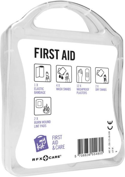 MyKit Erste-Hilfe Set Rückseite – Werbeartikel im PRESIT Online-Shop bedrucken lassen