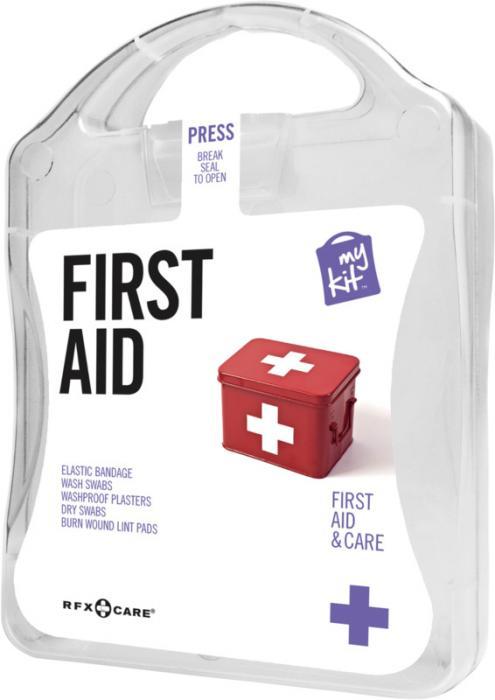 MyKit Erste-Hilfe Set Vorderseite – Werbeartikel im PRESIT Online-Shop bedrucken lassen
