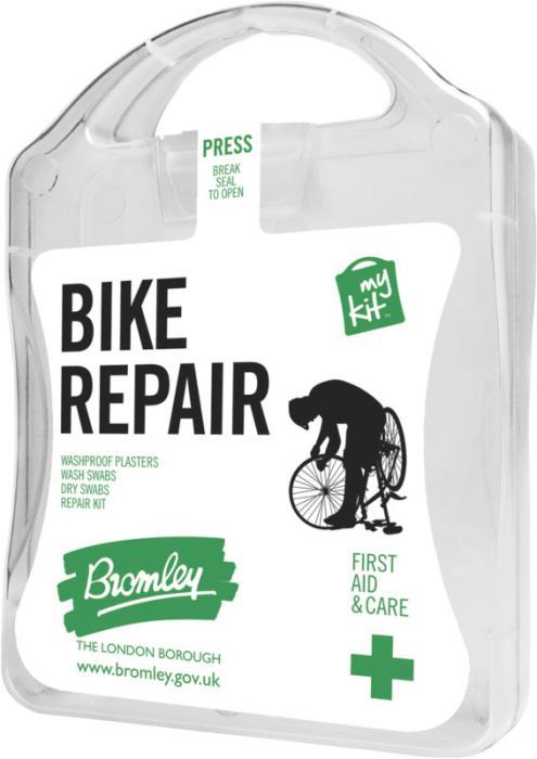 MyKit Fahrrad Reparatur Vorderseite – Werbeartikel im PRESIT Online-Shop bedrucken lassen