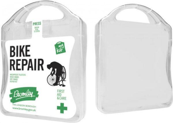 MyKit Fahrrad Reparatur Weiß – Werbeartikel im PRESIT Online-Shop bedrucken lassen