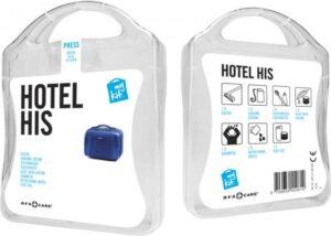 MyKit Hotel Herren Weiß – Werbeartikel im PRESIT Online-Shop bedrucken lassen
