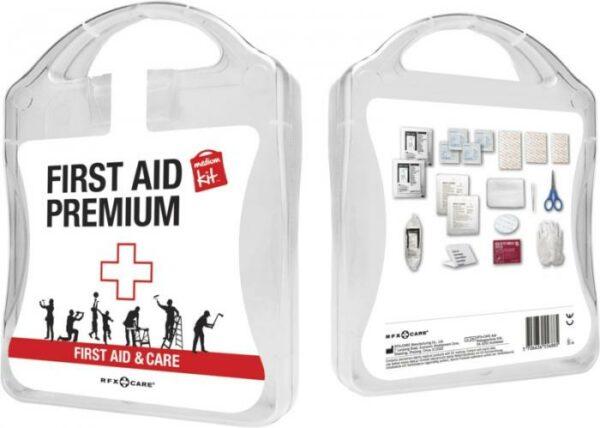 MyKit M Erste-Hilfe Premium Weiß – Werbeartikel im PRESIT Online-Shop bedrucken lassen