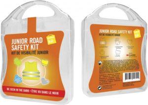 MyKit M Junior Sicherheit Weiß – Werbeartikel im PRESIT Online-Shop bedrucken lassen