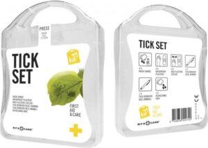 MyKit Zecken Set Weiß – Werbeartikel im PRESIT Online-Shop bedrucken lassen