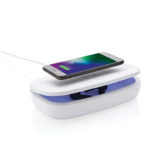 UV-C Sterilisations-Box mit 5W Wireless Charger