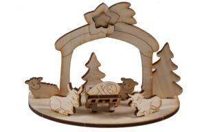 3D Holzpuzzle-Karte als Werbeartikel mit Logo im PRESIT Online-Shop bedrucken lassen