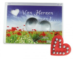 Backförmchen in der Box als Werbeartikel mit Logo im PRESIT Online-Shop bedrucken lassen
