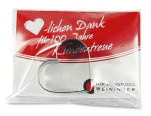 Backförmchen in der Tüte - Hund als Werbeartikel mit Logo im PRESIT Online-Shop bedrucken lassen