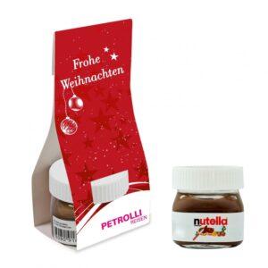 Nutella in Überreichverpackung als Werbeartikel mit Logo im PRESIT Online-Shop bedrucken lassen