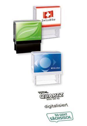 Stempelautomat  Printer Line Uni als Werbeartikel mit Logo im PRESIT Online-Shop bedrucken lassen