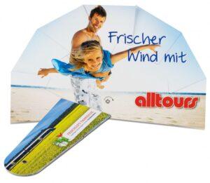 Werbe-Fächer als Werbeartikel mit Logo im PRESIT Online-Shop bedrucken lassen