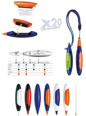 StampPen x20 Stamp Pen als Werbeartikel mit Logo im PRESIT Online-Shop bedrucken lassen