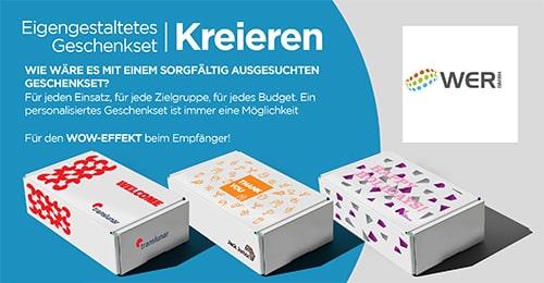 Geschenksets selbst gestalten - Werbemittel Flyer & Katalog 2021
