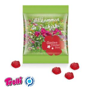 Fruchtgummi Minitüte Sonderform als Werbeartikel mit Logo im PRESIT Online-Shop bedrucken lassen