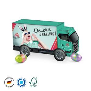 LKW Präsent Ostern als Werbeartikel mit Logo im PRESIT Online-Shop bedrucken lassen