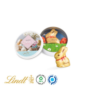 Osterdose Lindt als Werbeartikel mit Logo im PRESIT Online-Shop bedrucken lassen