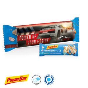 PowerBar Protein Nut2 Riegel als Werbeartikel mit Logo im PRESIT Online-Shop bedrucken lassen