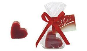 Herz-Seife als Werbeartikel mit Logo im PRESIT Online-Shop bedrucken lassen