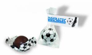 Süßer Fußball als Werbeartikel mit Logo im PRESIT Online-Shop bedrucken lassen