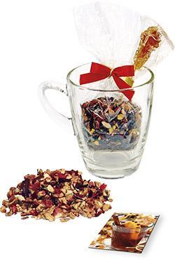 Weihnachts-Teeglas als Werbeartikel mit Logo im PRESIT Online-Shop bedrucken lassen