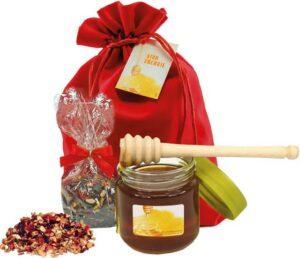 Honig-Set als Werbeartikel mit Logo im PRESIT Online-Shop bedrucken lassen