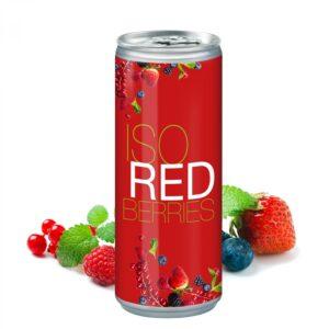 250 ml Iso Drink Redberries - Body Label (Exportware