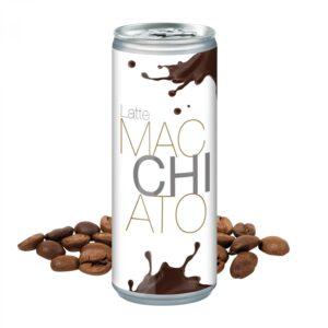 250 ml Latte Macchiato - Body Label (Pfandfrei) als Werbeartikel mit Logo im PRESIT Online-Shop bedrucken lassen