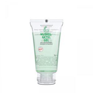 50 ml Tube mit Klappdeckel. kristallklar - Muskel-Aktiv-Gel - RealityPrint als Werbeartikel mit Logo im PRESIT Online-Shop bedrucken lassen