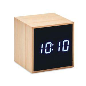 LED Tischuhr Bambus MARA CLOCK - Tischuhren