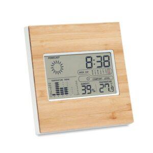Wetterstation Bambus TURKU - Uhren