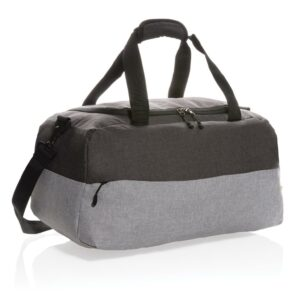 Duo Color RPET RFID Wochenendtasche