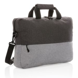 """Duo Color RPET 15.6""""RFID Laptoptasche"""
