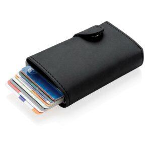 Aluminium RFID Kartenhalter mit PU-Börse