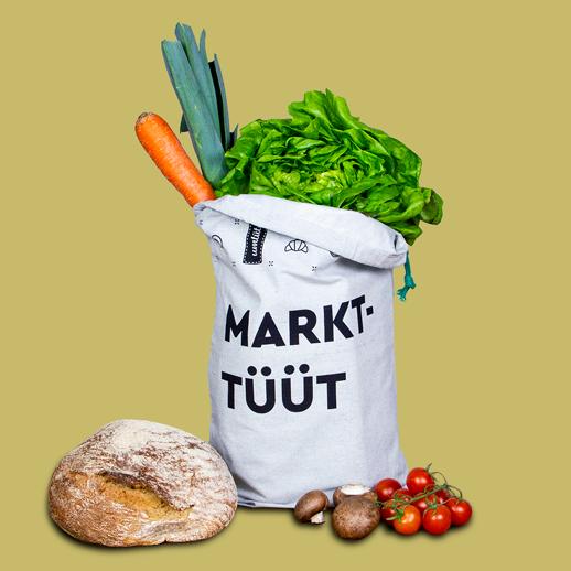 Beutel aus nachhaltigen und recycelten Materialien Made in Germany mit Logo gestalten