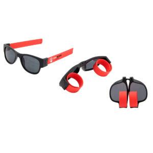 MagEye faltbare Sonnenbrille UV 400 in verschiedenen Farben mit Werbeanbringung gestalten WER GmbH