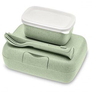 Koziol CANDY READY Lunchbox-Set + Besteck-Set als Werbeartikel mit Logo im PRESIT Online-Shop bedrucken lassen