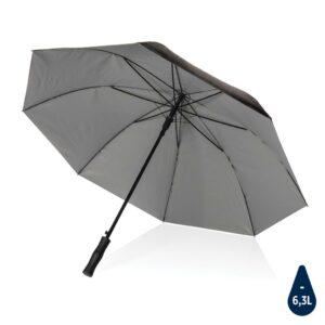 """21"""" Impact AWARE™ RPET 190T Pongee Bi-Color Auto-Open-Schirm"""