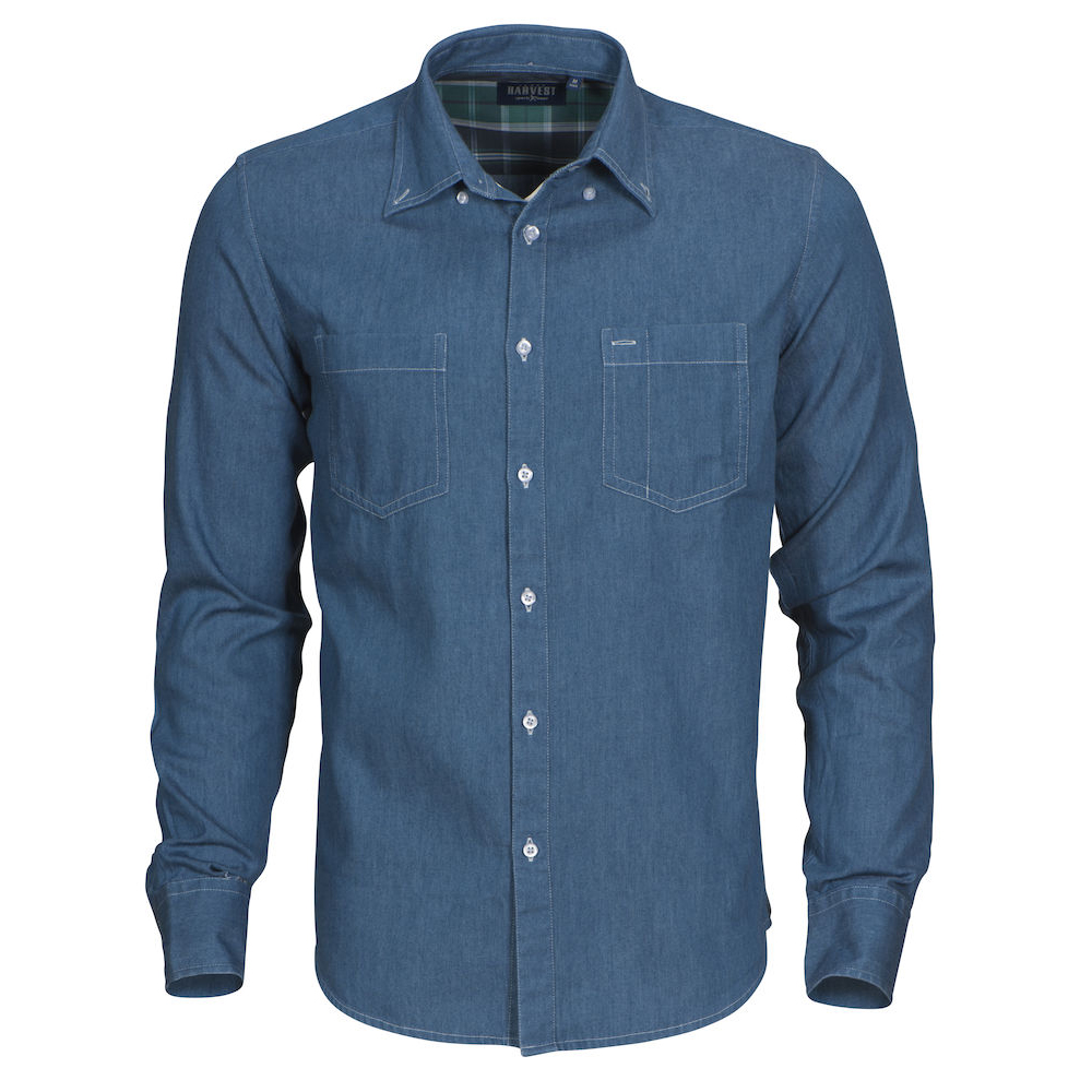 New Wave JUPITER SHIRT | Farbe: helles denim