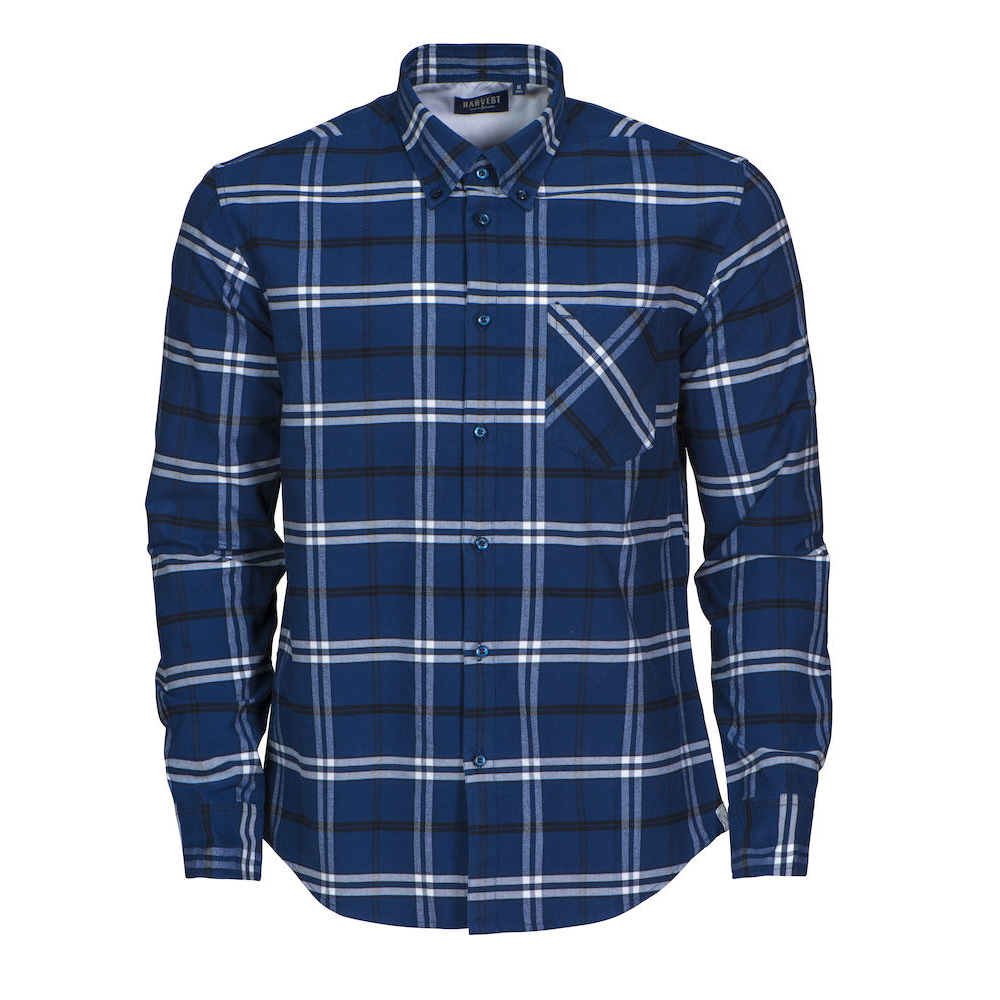 New Wave BRIGHAM CHECKED SHIRT | Farbe: marine/weiss