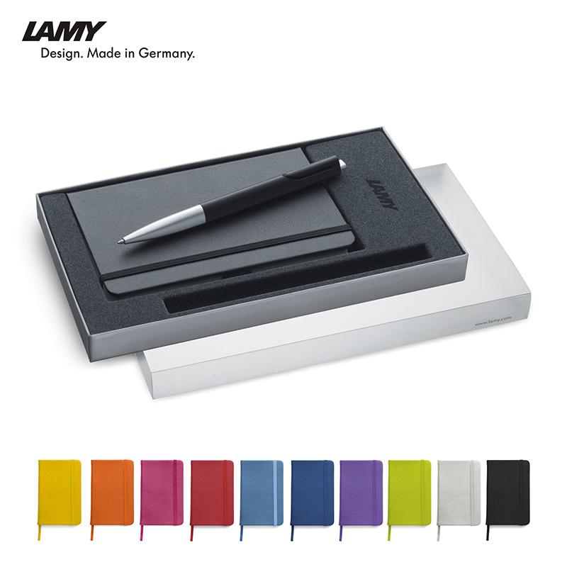 Lamy presit Set mit farbigem Notizbuch - exklusiv