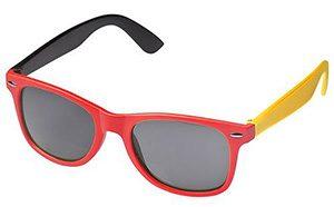 Fußball-Brille in schwarz-rot-gold zur EM 2016 in Frankreich