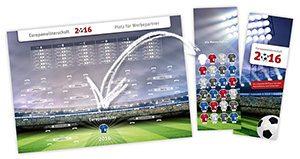 Steck-Planer zur Fußball EM 2016 in Frankreich