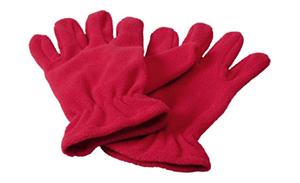 Kuschelige Winter-Handschuhe besticken